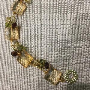 Jewelry - Beaded glass bracelet.